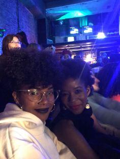Con mi hermana de isla, mi amiga afro haitiana Lola