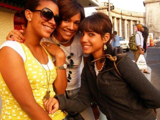 Con Carmen y Karla en China Town