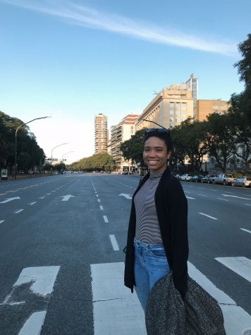 Liz en Buenos Aires