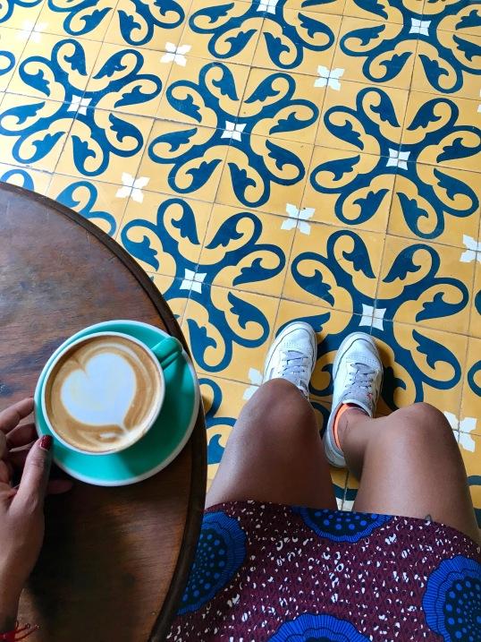 Rico café Colombiano